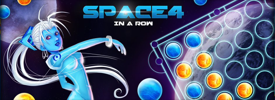 Space 4 in a row